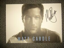Matt Cardle - hand signed / autographed photo - unwanted prize