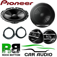 Pioneer Mercedes W207 C-Class 2007 On 600W Component Rear Car Speakers