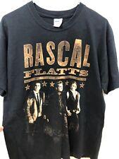 Rascal Flatts 2010 Houston Rodeo Concert T-Shirt L Black
