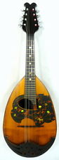 Japan Mascot No.5 bowlback Mandolin, Solid spruce & Maple, OJMN115