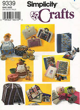 Simplicity Covers Bird Cage,Sew Mashine,Casserole,Cookie Tin Sewing Pattern 9339