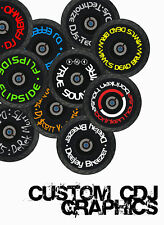 PIONEER CDJ DDJ DJM CUSTOM SLIPMAT GRAPHICS  ALL MODELS