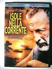 Dvd Isole nella corrente con George C. Scott 1977 Usato