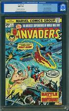 Invaders #1 CGC 9.6 1975 Captain America! Avengers! B11 1 162 cm