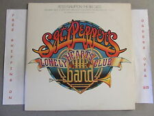 SGT. PEPPER'S LONELY HEARTS CLUB BAND ORIGINAL SOUNDTRACK DOUBLE LP W/ POSTER