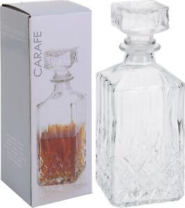 Glass Decanter Whiskey Sherry Brandy Liqueur Decanter Wine Decanter Carafe