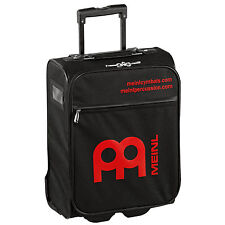 Meinl Percussion Cabin Trolley Suitcase Extendable Handle Black - Red Meinl Logo