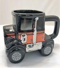 Ride Semi Transport Truck Ceramic Sculpted Mug - Jz