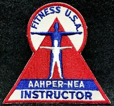 Lmh Patch Badge Fitness Usa Instructor American Alliance Health Physical Aahper
