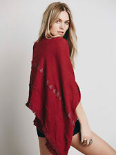 141446 Nw Free People Ride on the Tide Kimono Kaftan Coverup Top Over Size OS US