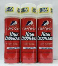Old Spice High Endurance Mountain Rush  Deodorant Spray 6 oz  ( PACK OF 3 )