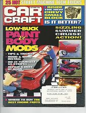 Car Craft Magazine October 1996 Low Buck Paint & Body Mods  Very Good