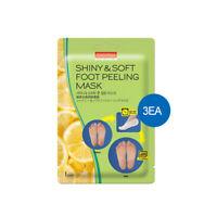 [PUREDERM] Shiny & Soft Foot Peeling Mask 1pair*3ea