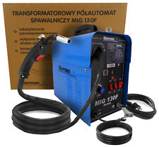 MIG130F Sherman 120A Semi Auto GASLESS Welding Machine Welder AC 230V/50Hz