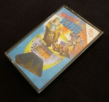 MSX Speed King Vintage Computer Video Game Cassette by Mastertronic