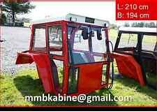 Universalkabine für Traktor bis ca. 90PS Traktorkabine Kabinen in RAL3020
