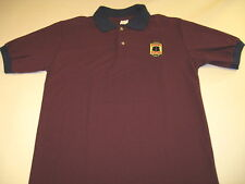Super 8 Eight Motel - Vintage Embroidered Golf Polo Shirt Brand New! Adult SMALL