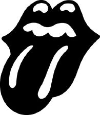 Sticker Rolling Stones 104 Langue - 57x66 cm