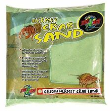 ZOO MED™ Hermit Crab Sand Color Sand Green net weight 2 lbs