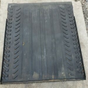 02-13 CHEVY AVALANCHE ESCALADE EXT REAR BED RUBBER CARGO MAT LINER OEM
