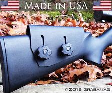 Tactical Rifle Cheek Rest Adjustable Riser - .093 Black Kydex Razor Rest USA!
