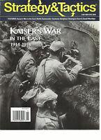 STRATEGY & TACTICS, KAISER'S WAR IN THE EAST 1914-1918 NOVEMBER / DECEMBER, 2016