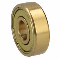 General Industrial Gold Bearing 608Z ID8 OD22 x W7mm ABEC 7 High Precision