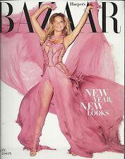 Harpers Bazaar magazine Kate Hudson Kristen Stewart Anjelica Huston Lagerfeld