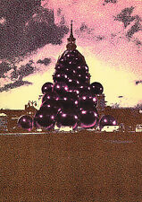 """Funky Original 1971 Pol BURY Lithograph """"Sacred Heart of Jesus Paris"""" FRAMED COA"""