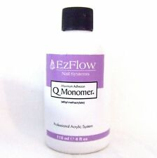 EzFlow Acrylic Nail Liquid Q Monomer 4oz/118mL