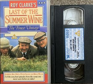 LAST OF THE SUMMER WINE 'THE FINEST VINTAGE'-VHS VIDEO.