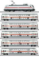 """Märklin H0 37447-S IC2 Doppelstockwagen-Zug der DB AG """"mfx+ / Sound"""" - NEU + OVP"""