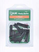 10 Flymo Plastic Blades fit HOVERVAC 28 2800 30 HV280 HV2800 microlite minimo