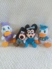 VTG Disney Plush Stuffed Animals Mickey's Christmas Carol