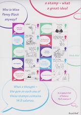 Ls06 Gb 2001 Cartoon Smiler sheet Unmounted Mint/Mnh
