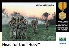 Master Box 1/35 cabeza para el Huey soldados estadounidenses Vietnam # 35107
