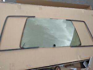 85-95 Mercedes W124 TE Wagon Rear Liftgate Window Glass/Frame E320 300TE