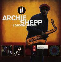 Archie Shepp : 5 Original Albums CD Box Set 5 discs (2018) ***NEW*** Great Value