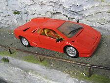 Maisto Lamborghini Diablo 1:18 Red paint has some damage