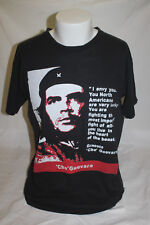 Che Guevara Men's Black T Shirt Size XL I envy you, You North Americans are very