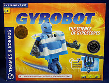 New GYROBOT - Gyroscopic Robot Experiment Kit - THAMES & KOSMOS Build 7 Machines