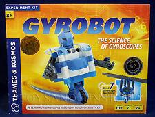 New GYROBOT - Gyroscopic Robot Experiment Kit - THAMES & KOSMOS Build 7 Machines