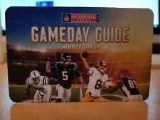 NFL 2016 London Gameday Guide Wembley Colts v Jaguars & Redskins v Bengals