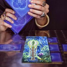 Printed Velvet Ta-rots Storage Bag Oracle Card Witch Divination Accessory GB