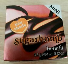 Benefit Sugarbomb MINI Blush 3.5g New Boxed with Brush Genuine