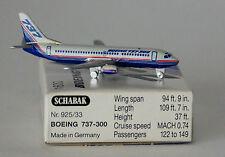 Schabak Boeing 737-3b7 Boeing Avión Company 1st versión en 1:600 Escala