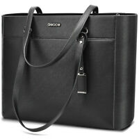 "Large 16.5"" Women Handbags Office Briefcase Laptop Tote Handbag Case Casual Bag"