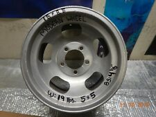 """VINTAGE 15x8-1/2 MODERN SLOT MAG WHEEL 5 on 5"""" CHEVY VAN/TRUCK FORD/CHEVY CARS"""