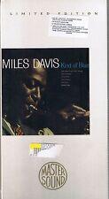 Davis, Miles Kind of Blue GOLD CD Mastersound SBM NEU OVP Sealed Longbox