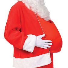 Adult Fake Big Belly Santa Clause Christmas Nativity Festive Costume Accessory